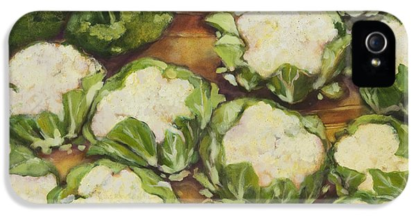 Cauliflower March IPhone 5 Case by Jen Norton
