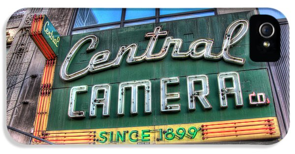 Central Camera IPhone 5 Case
