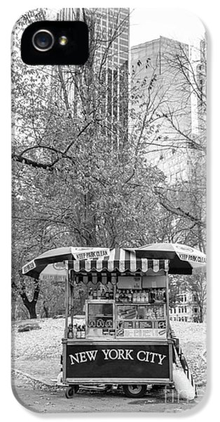 Central Park Vendor IPhone 5 Case by Edward Fielding
