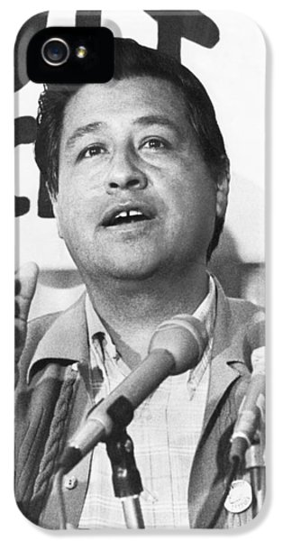 Lettuce iPhone 5 Case - Cesar Chavez Announces Boycott by Underwood Archives
