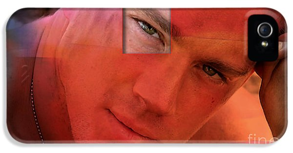 Channing Tatum Painting IPhone 5 Case by Marvin Blaine