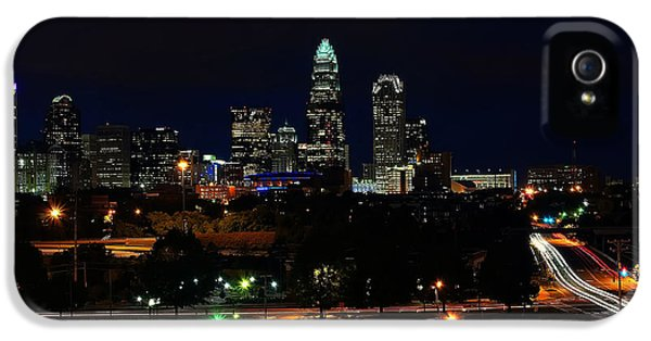 Charlotte Nc At Night IPhone 5 Case