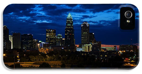 Charlotte North Carolina Panoramic Image IPhone 5 Case