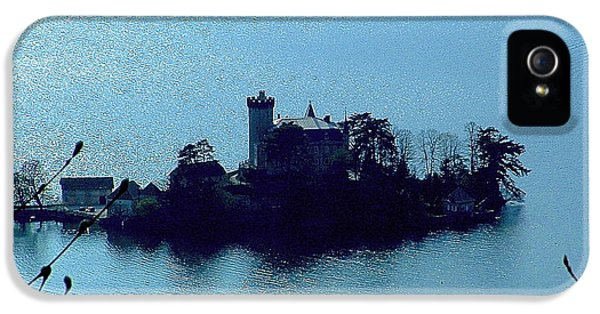 Chateau Sur Lac IPhone 5 Case