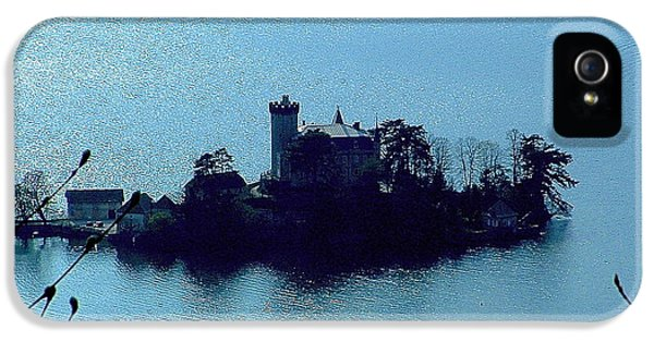 Chateau Sur Lac IPhone 5 Case by Marc Philippe Joly