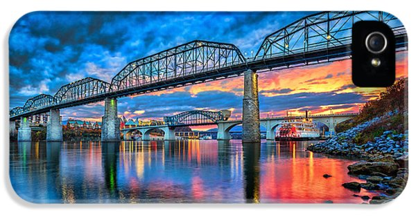 Chattanooga Sunset 3 IPhone 5 Case