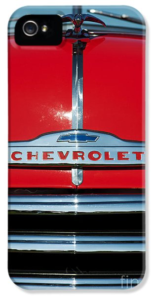 Chevrolet 3100 1953 Pickup IPhone 5 Case by Tim Gainey