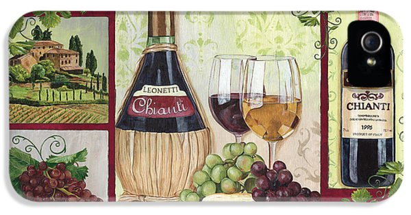 Chianti And Friends 2 IPhone 5 Case by Debbie DeWitt