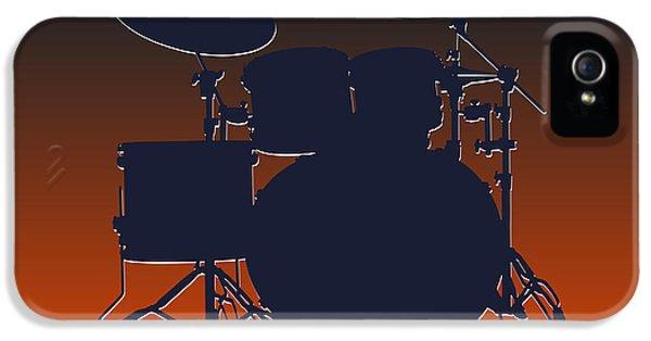 Chicago Bears Drum Set IPhone 5 Case by Joe Hamilton