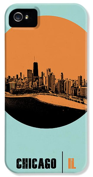 Grant Park iPhone 5 Case - Chicago Circle Poster 2 by Naxart Studio