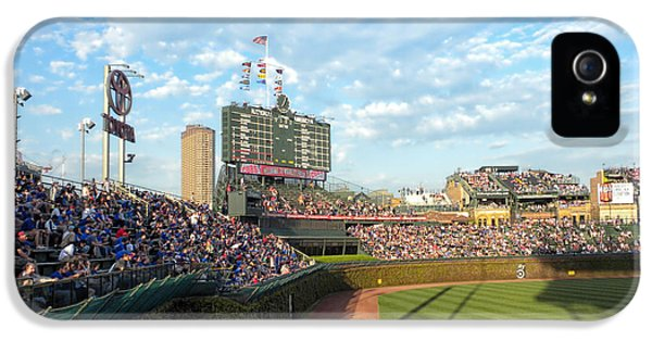 Chicago Cubs Scoreboard 03 IPhone 5 Case by Thomas Woolworth