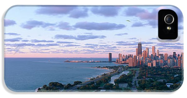 Central Il iPhone 5 Cases - Chicago, Diversey Harbor Lincoln Park iPhone 5 Case by Panoramic Images