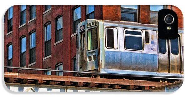 Chicago El And Warehouse IPhone 5 Case by Christopher Arndt