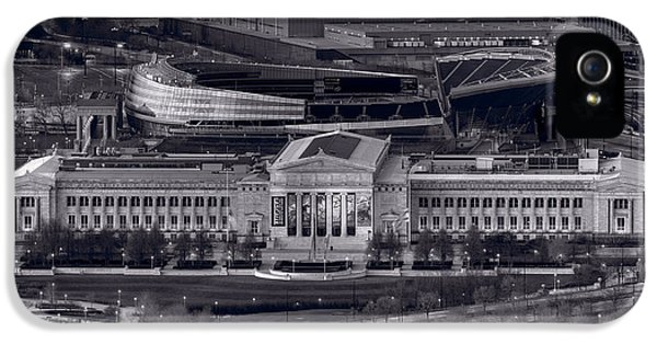 Chicago Icons Bw IPhone 5 Case by Steve Gadomski