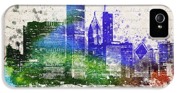 Chicago In Color IPhone 5 Case