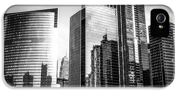 Chicago Loop Black And White Picture IPhone 5 Case