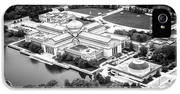 Chicago Museum Of Science And Industry Aerial View IPhone 5 / 5s Case by Paul Velgos