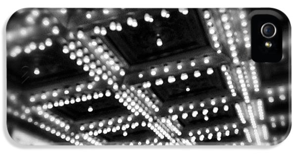 Light iPhone 5 Case - Chicago Oriental Theatre Lights by Paul Velgos