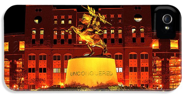 Chief Osceola And Renegade Unconquered IPhone 5 Case by Frank Feliciano