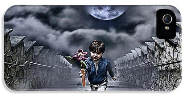 Child Of The Moon IPhone 5 Case by Joachim G Pinkawa