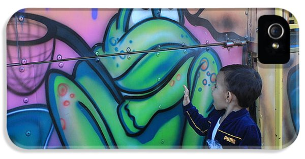 Child With Graffiti IPhone 5 Case