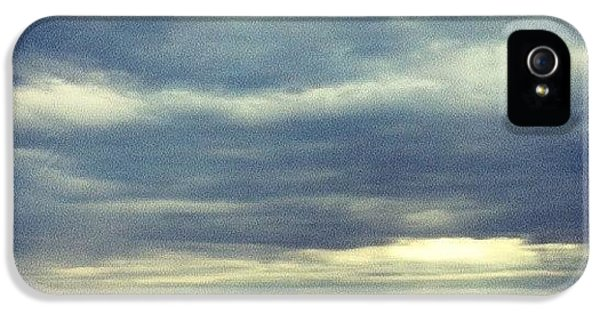 Sky iPhone 5 Case - Chilly Morning by Jill Tuinier