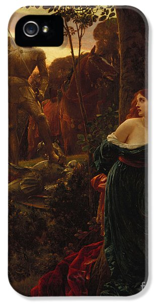 Knight iPhone 5 Case - Chivalry by Sir Frank Dicksee