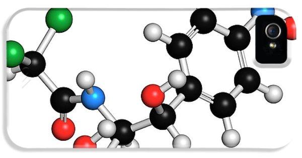 Toxicity iPhone 5 Case - Chloramphenicol Antibiotic Molecule by Molekuul