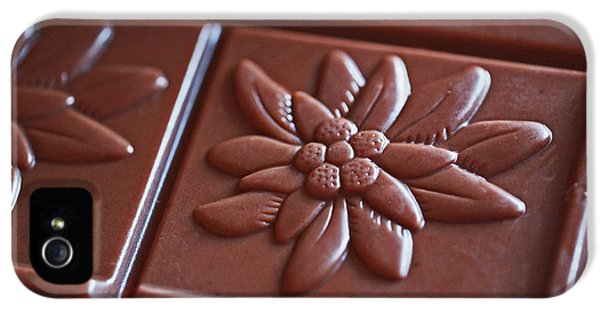 Chocolate Flower  IPhone 5 Case