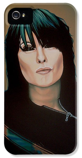 Chrissie Hynde Painting IPhone 5 Case