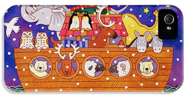 Christmas Ark IPhone 5 Case