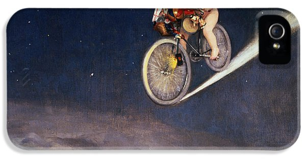 Bicycle iPhone 5 Case - Christmas Delivery by Jose Frappa