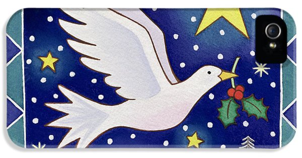 Christmas Dove  IPhone 5 Case
