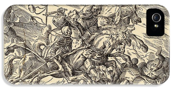 Christoph Murer, The Four Horsemen Of The Apocalypse IPhone 5 Case by Litz Collection