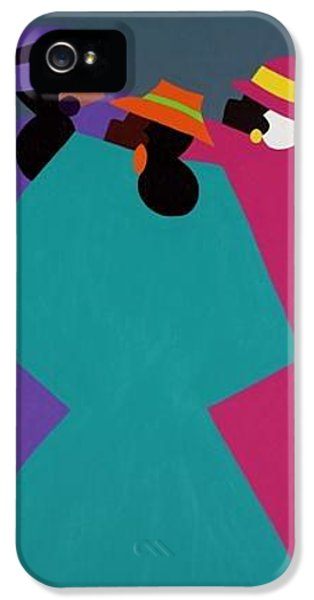 iPhone 5 Case - Church Ladies Too by Synthia SAINT JAMES