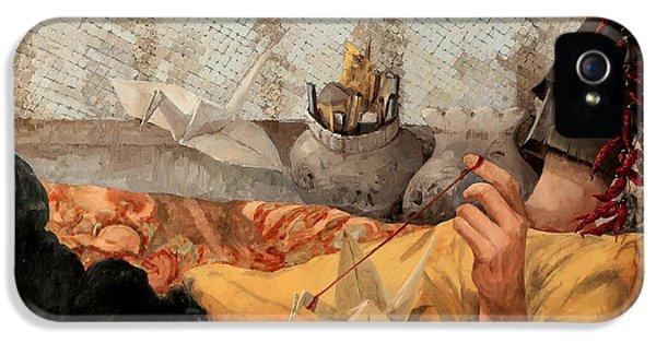 Cicogna Da Passeggio IPhone 5 Case by Guido Borelli