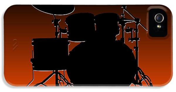 Cincinnati Bengals Drum Set IPhone 5 Case by Joe Hamilton
