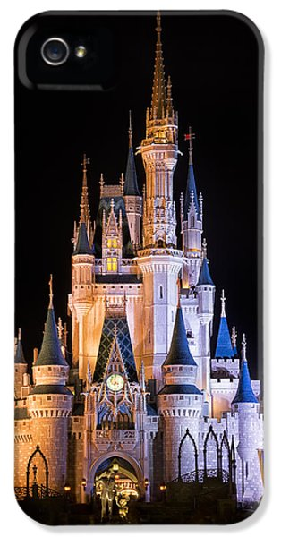 Cinderella's Castle In Magic Kingdom IPhone 5 Case