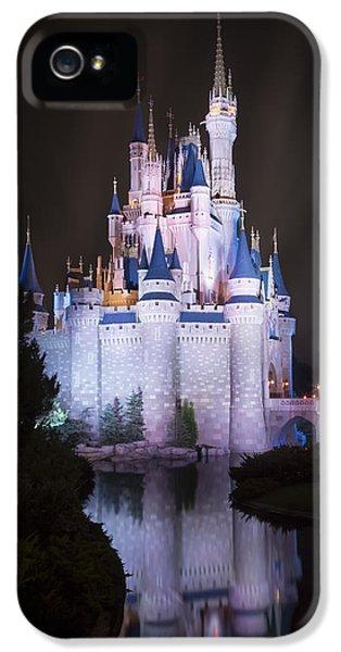 Cinderella's Castle Reflection IPhone 5 Case by Adam Romanowicz
