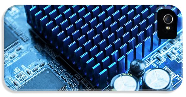 Circuit Board Heat Sink IPhone 5 Case by Science Photo Library