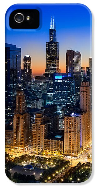 City Light Chicago IPhone 5 Case