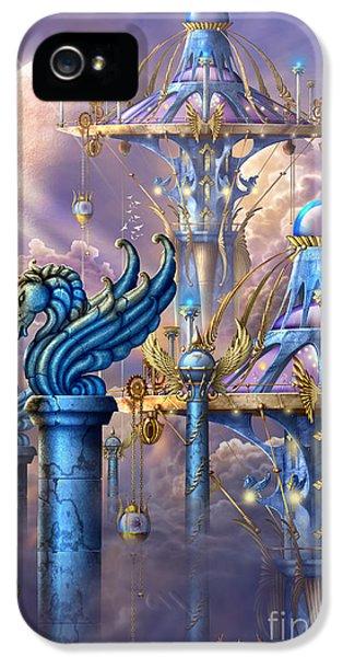 Pegasus iPhone 5 Case - City Of Swords by Ciro Marchetti
