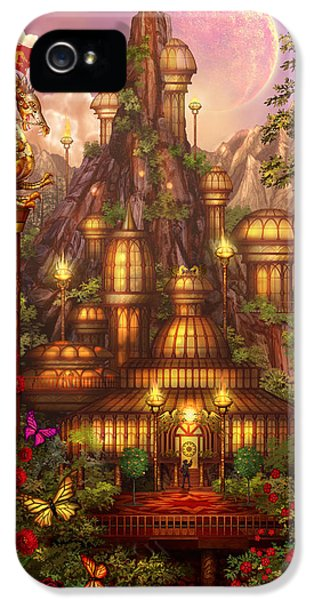 City Of Wands IPhone 5 Case by Ciro Marchetti