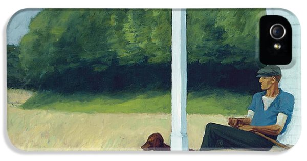 Clamdigger IPhone 5 Case by Edward Hopper