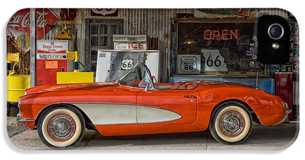 Classic Corvette IPhone 5 Case by Mountain Dreams