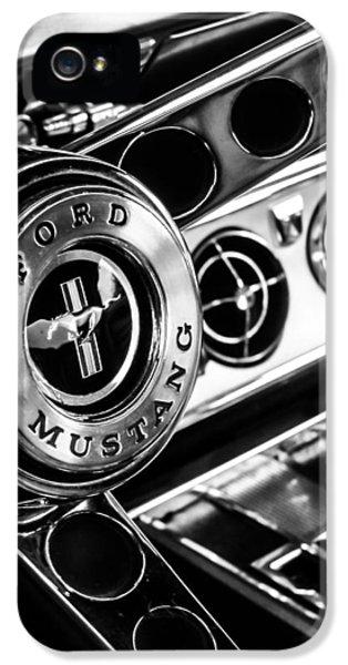 Classic Mustang Interior IPhone 5 Case