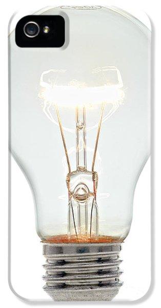 Clear Light Bulb IPhone 5 Case