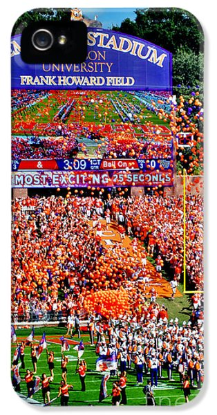 Clemson Football Iphone Galaxy Cover IPhone 5 Case
