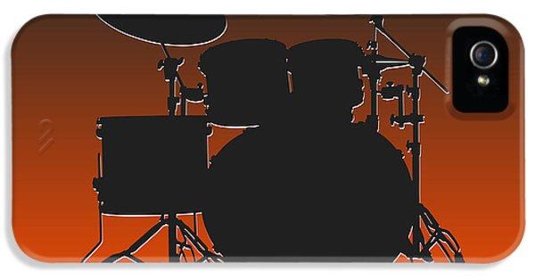 Cleveland Browns Drum Set IPhone 5 Case by Joe Hamilton