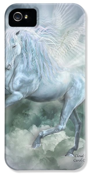 Pegasus iPhone 5 Case - Cloud Dancer by Carol Cavalaris